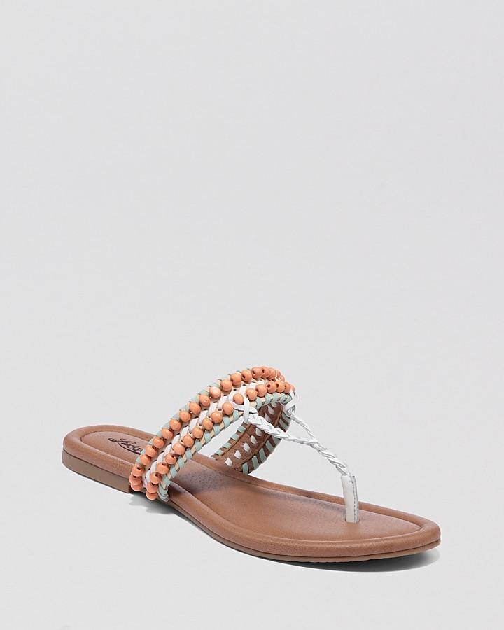 Lucky Brand Thong Sandals - Dollis