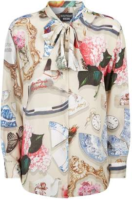 Moschino Printed Blouse