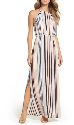 Women's Charles Henry Woven Maxi Dress $99 thestylecure.com