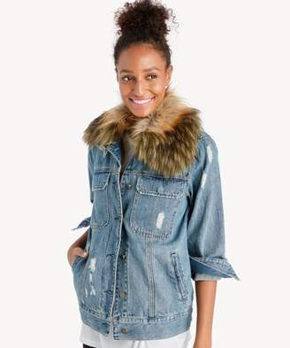 Sole Society Group Love Denim Jacket