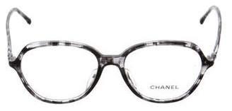 Chanel Marbled CC Eyeglasses