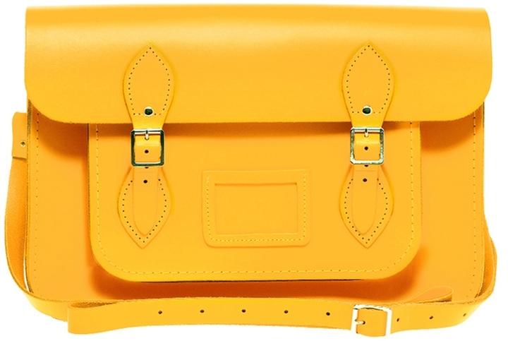 The Cambridge Satchel Company 14 Leather Satchel - Yellow