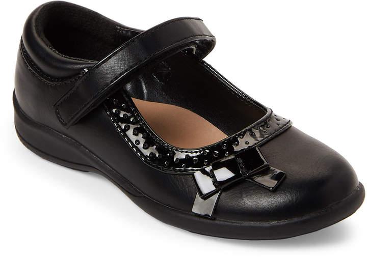 Nina (Toddler Girls) Black Luna Mary Jane Shoes