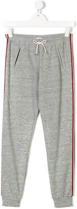 Chloé Kids side stripe sweatpants