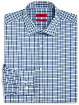 HUGO Check Slim Fit Dress Shirt