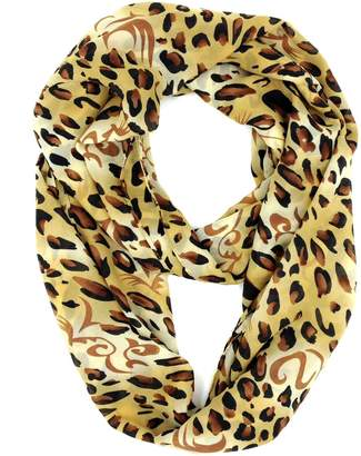 Tapp Collections Tapp C. Fashion Polka Dots Infinity Scarf - Black