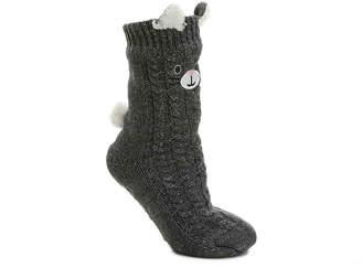 Mix No. 6 Cozy Cat Slipper Socks - Women's