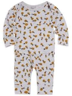 Stella McCartney Baby's Bee Print Two-Piece Tee & Leggings Set