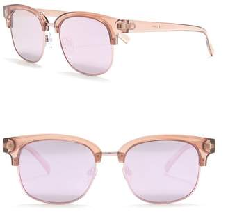 Le Specs Recognition 53mm Clubmaster Sunglasses