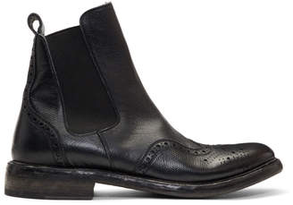 Burberry Black Alvington Chelsea Boots