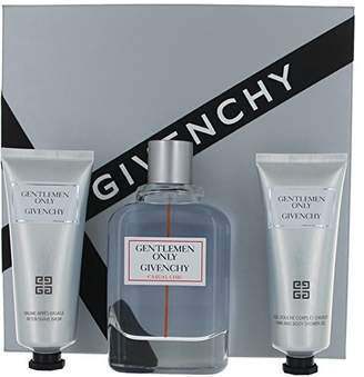 Givenchy Gentlemen Only Casual Chic By Edt Spray 3.3 Oz & Aftershave Balm 2.5 Oz & Shower Gel 2.5 Oz