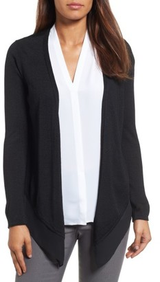 Women's Nic+Zoe Paired Up Silk Blend Cardigan $138 thestylecure.com