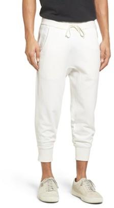 Men's Vince Crop Sweatpants $195 thestylecure.com