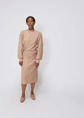 Lemaire High Collar Twisted Dress