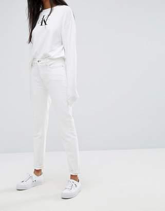 Calvin Klein Jeans High Rise Slim Fit Jean