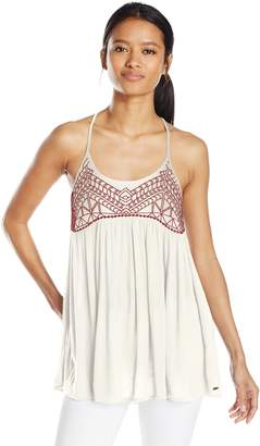 O'Neill Junior's Talullah Embroidered Tank