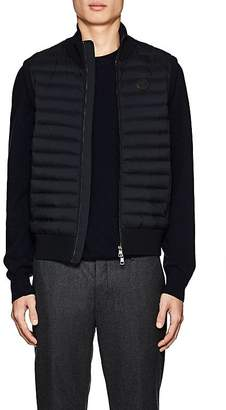 Moncler Men's Maglia Down-Quilted Cotton-Blend Vest