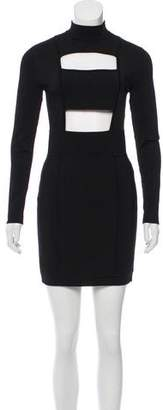 Balmain Cutout Bodycon Dress