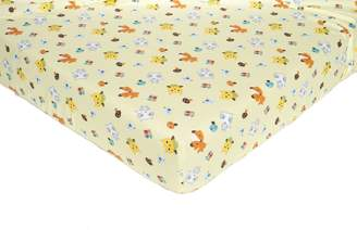 Kids Line Little Tree Fitted Crib Sheet, 1-Pack