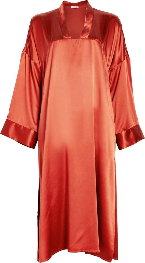 Homeism Azalea Silk Nightgown
