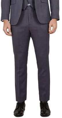 Ted Baker Bekdebt Debonair Birdseye Slim Fit Suit Trousers