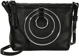 Kara Multi Ring Leather Pouch Bag