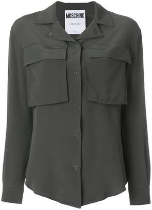 Moschino oversized pocket shirt