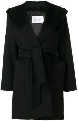 Max Mara belted single-breasted coat