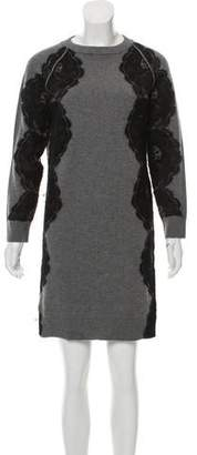 Lanvin Knit Mini Dress