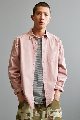 Urban Outfitters UO Stevens Poplin Button-Down Shirt $39 thestylecure.com