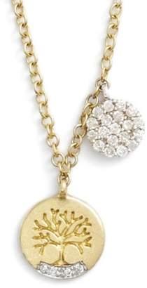 Meira T Tree of Life Diamond Pendant Necklace