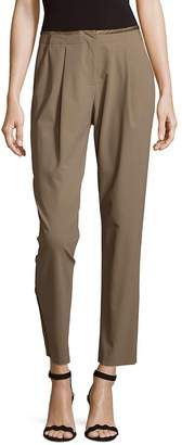 Lafayette 148 New York Women's Millennium Crepe Columbia Track Pants