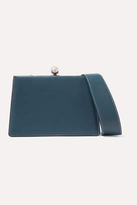 Ratio et Motus - Mini Twin Leather Shoulder Bag - Blue