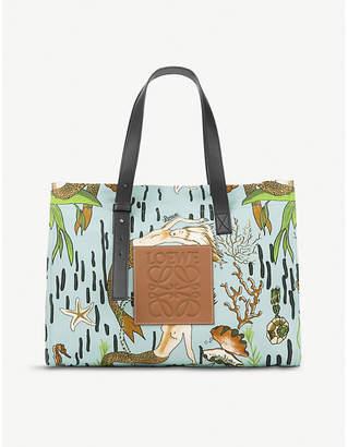 Loewe x Paula's Ibiza medium canvas tote bag