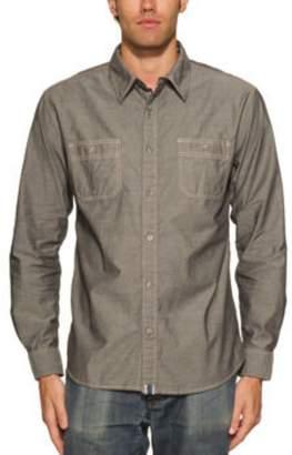 Weatherproof Vintage Men's Long Sleeve Woven Shirt