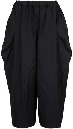 Comme des Garcons cropped flared trousers