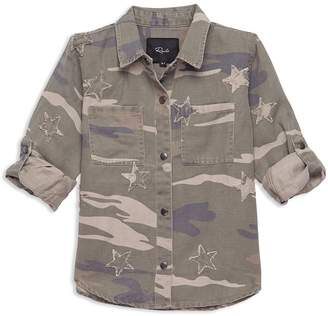 Rails Girls' Margot Camouflage Shirt