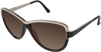 ROCAWEAR Rocawear Metal-Accent Cat-Eye Sunglasses $28 thestylecure.com