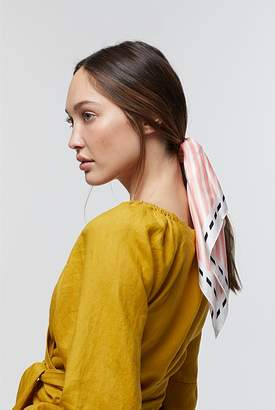 Country Road Angle Stripe Silk Scarf