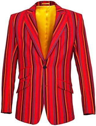 Koy Clothing - Red Maasai Striped Blazer