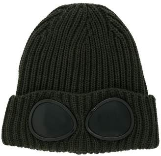 C.P. Company Kids goggle knitted hat