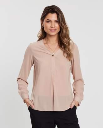 Dorothy Perkins Button Roll Sleeve Shirt