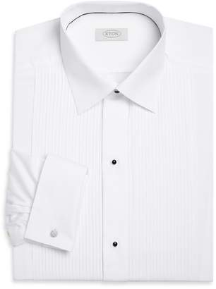 Eton Contemporary Fit Pleated Bib Formal Shirt