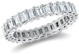 New Emerald Cut Diamond Eternity Ring (3 1/2 cts. tw.)