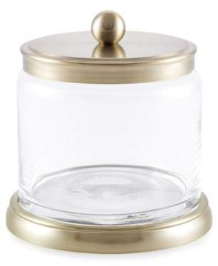 Baltic Linen® Bigelow Small Storage Jar in Brushed in Gold