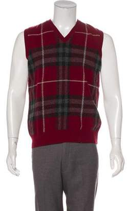 Burberry Wool Sweater Vest