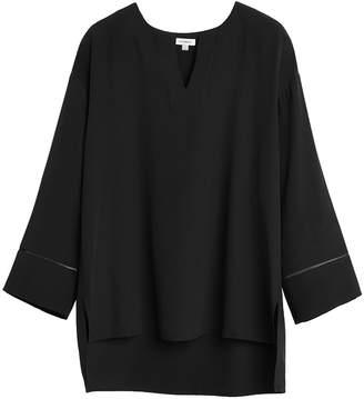 Cuyana Wide Sleeve Silk Blouse
