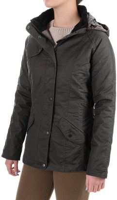 Barbour Millfire Waxed-Cotton Jacket - Waterproof, Insulated (For Women) $199.99 thestylecure.com