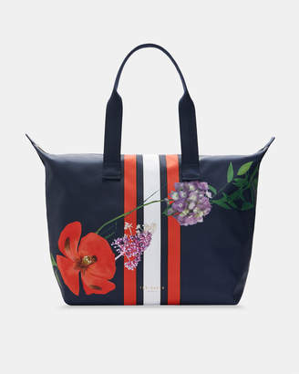 Ted Baker JENNSA Hedgerow foldaway shopper