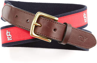 Vineyard Vines St. Louis Cardinals Canvas Club Belt